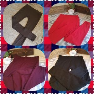 Pants - ❣NEW LISTING❣💥4 PAIRS•1 PRICE💥 Assorted Leggings